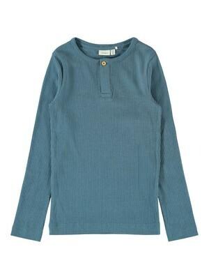 (*) KIDS T-shirt met lange mouw - KABILLE - lichtblauw