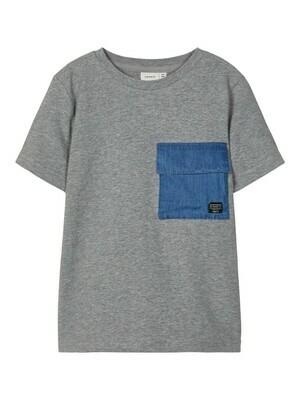 (*) KIDS T-shirt - BATOJ - grijs
