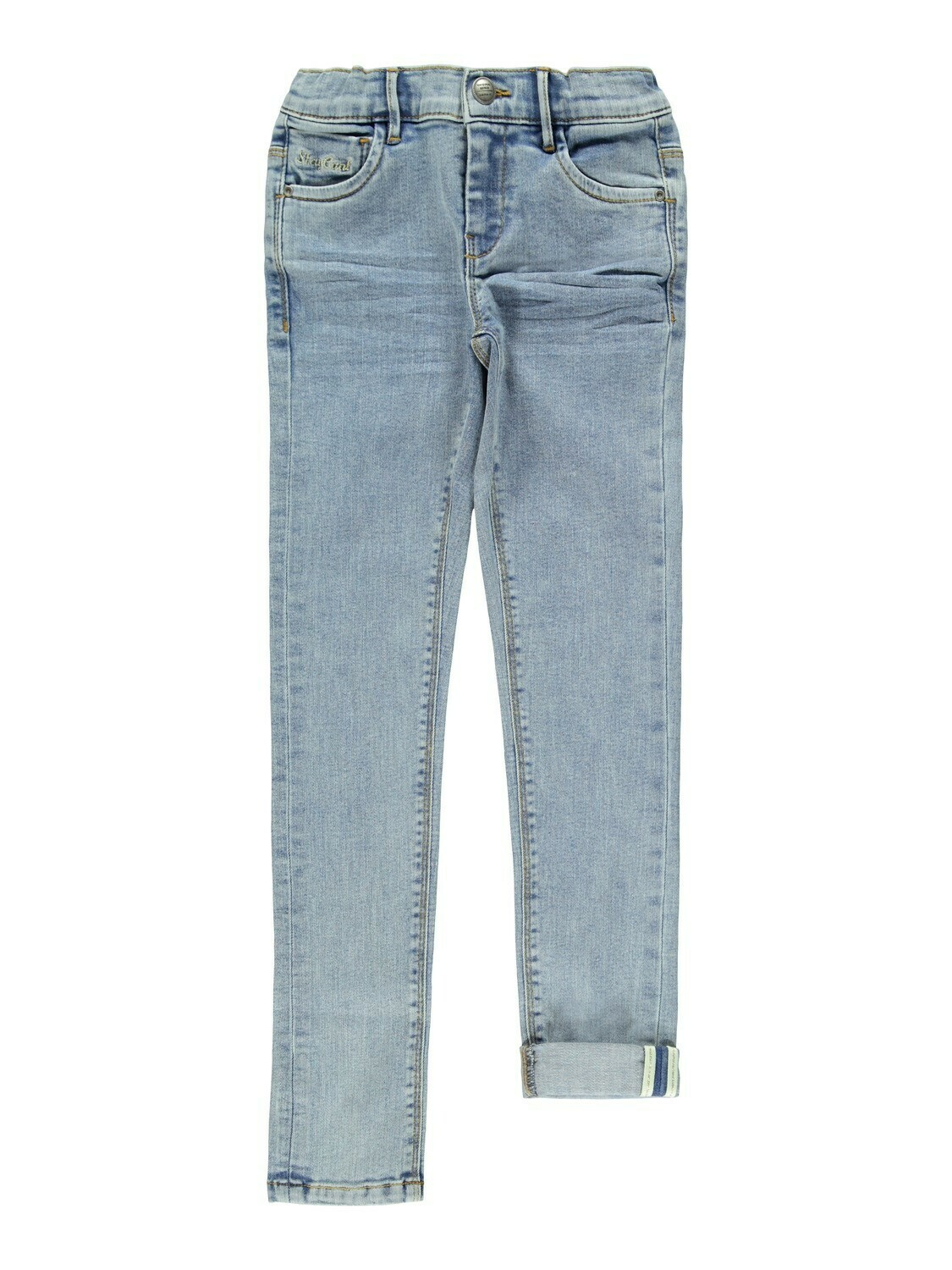 KIDS Broek skinny jeans - POLLY - light blue