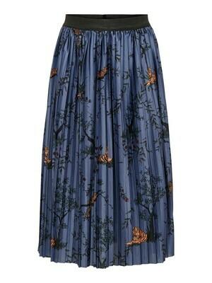(*) KIDS Rok - DISCO - blauw met tijger en bloemetjes