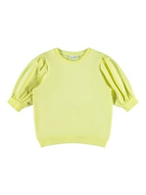 KIDS Trui sweater driekwart mouw - FEKORT - geel