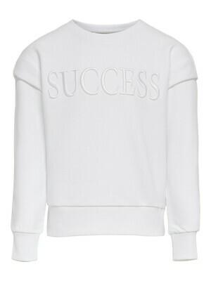 KIDS Trui sweater - ELLA - wit