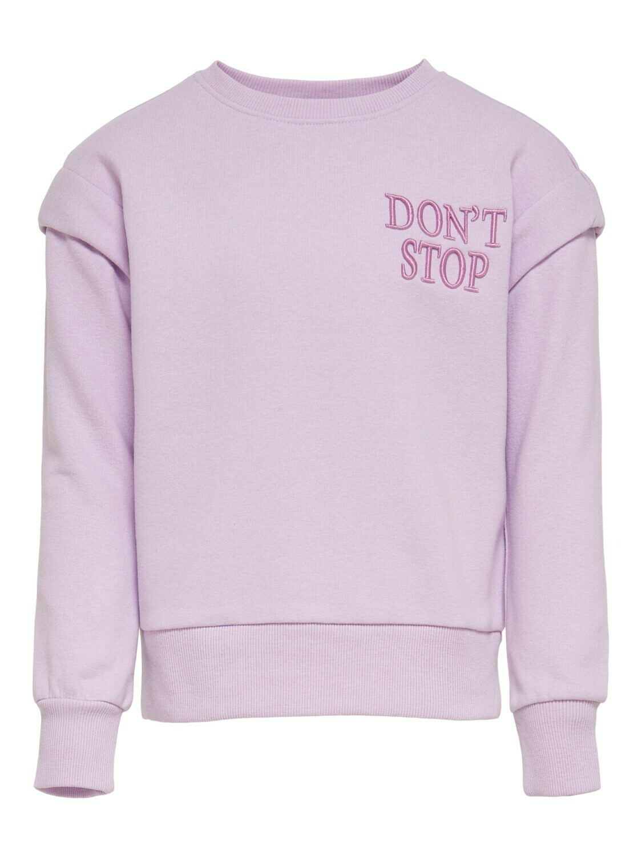 KIDS Trui sweater - ELLA - lila