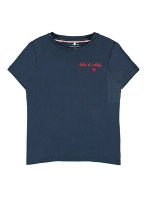KIDS T-shirt - LOVELY - donkerblauw