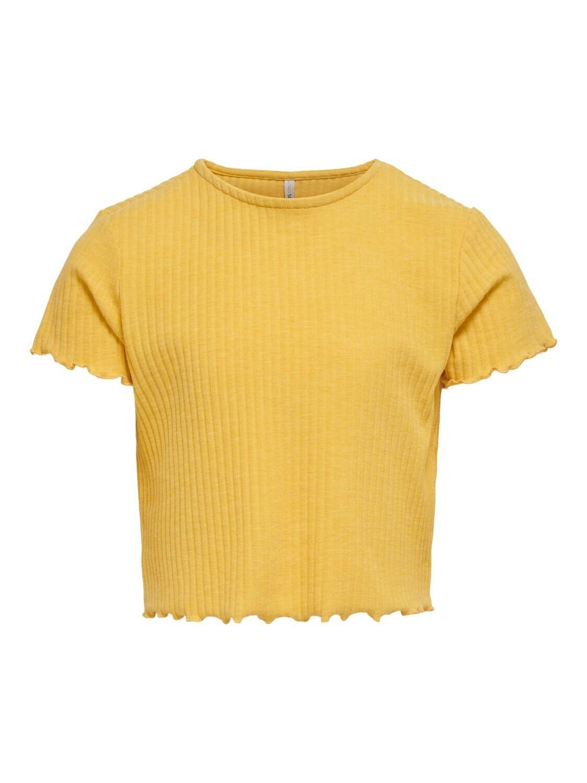 *  KIDS T-shirt - NELLA - geel