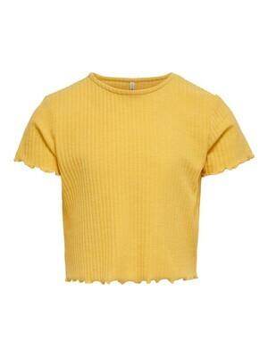 KIDS T-shirt - NELLA - geel