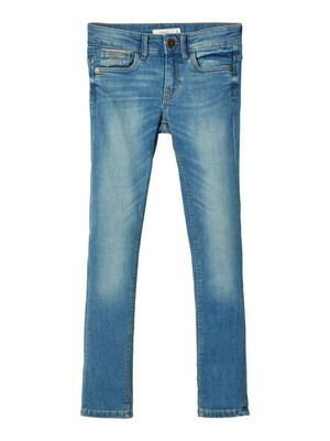 *  KIDS Jeansbroek - THEO - medium blue