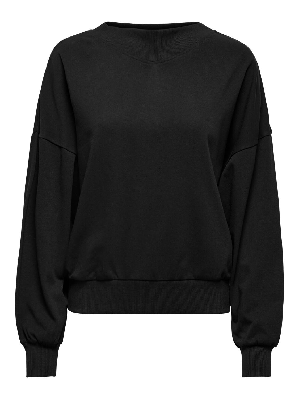 Trui sweater - GIANNA -zwart