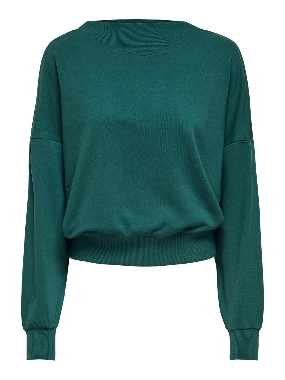 Trui sweater - GIANNA - donker appelblauwzeegroen