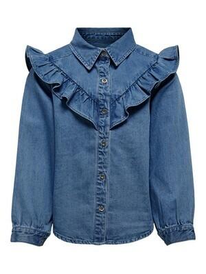 (*) KIDS Jeanshemd - ALLISON - medium blue