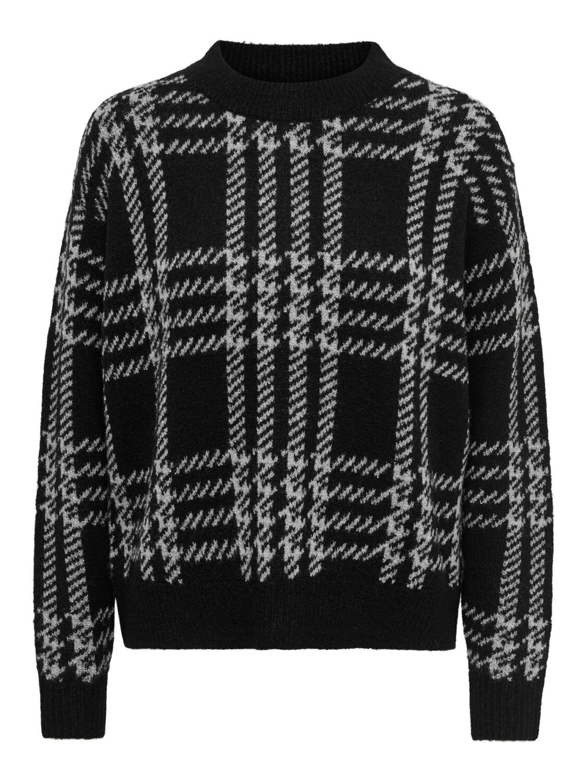 Knitwear - SHOTGUN - zwart