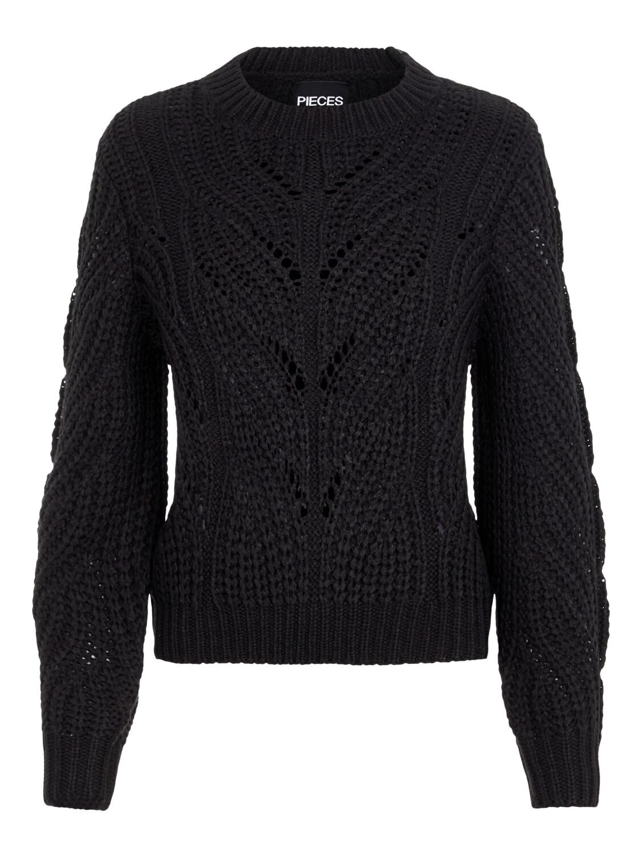 Knitwear trui - RACHEL - zwart