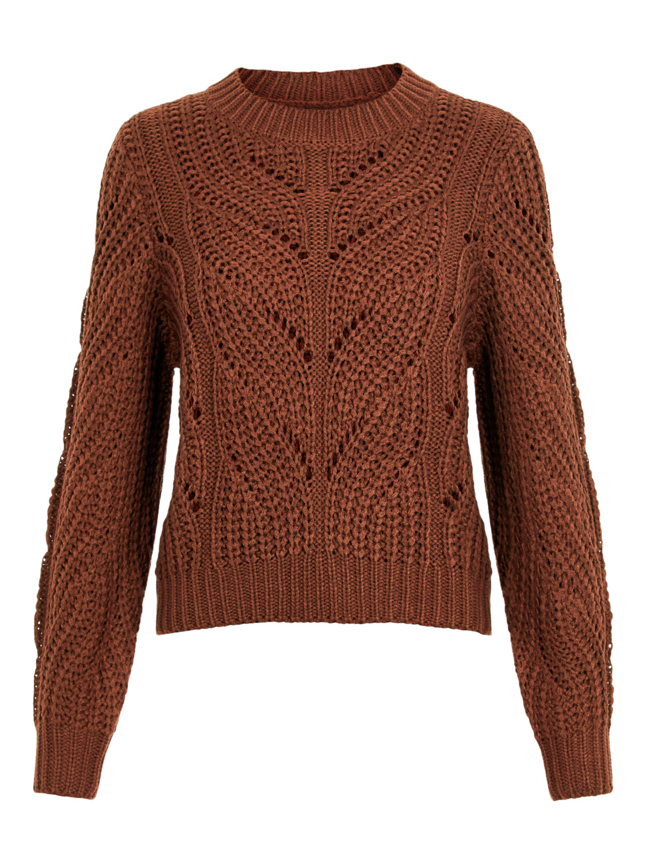 Knitwear trui - RACHEL - bruin