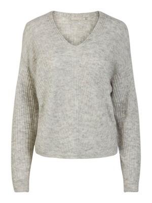 Knitwear - SUNNY - grijze gebreide trui