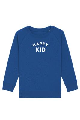 KIDS Trui sweater - HAPPY KID - majorelle blue