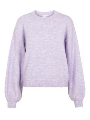 Knitwear trui - SANY - lavendel