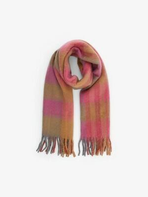 Wintersjaal - SUSINE - roze/beige