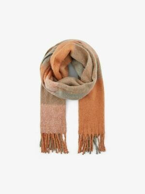 Wintersjaal - SULJIC - roze/oranje tinten