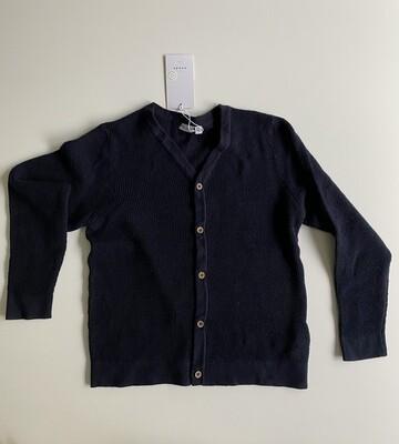 Gebreide vest - VILTON - donkerblauw