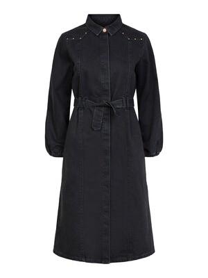 Midi jurk - ROSIE - zwart