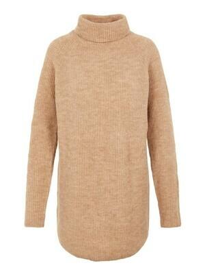 Knitwear lange trui - ELLEN - beige