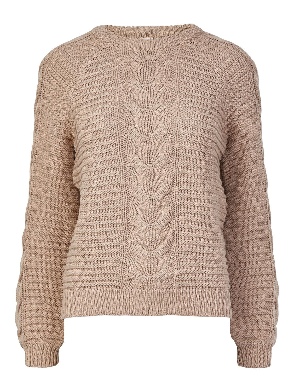 (*) Knitwear trui - REBECCA - natural