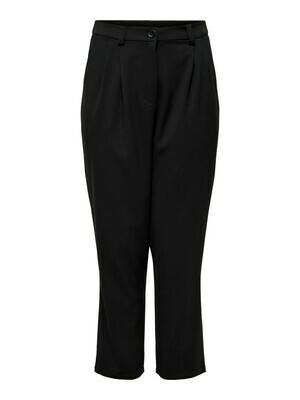 (*) + Wijde lange broek - RENEE - zwart