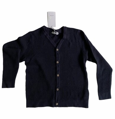 (*) KIDS Gebreide vest - VILTON - donkerblauw