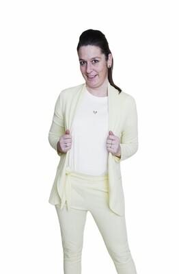 Blazer - MILLA - pastelgeel