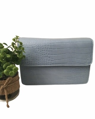 Handtas - JALLY - lichtblauw