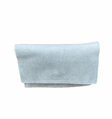 Handtasriem/clutch suède - LAUREN - munt
