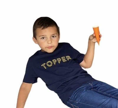 KIDS T-shirt - TOPPER - French navy