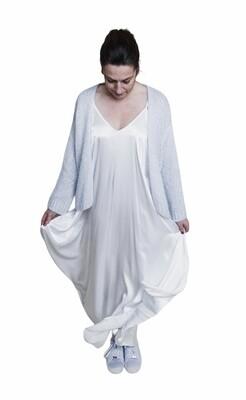 Knitwear korte vest - MYRIAM - babyblauw