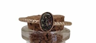 Ring - NOMI - verstelbare ring met steen