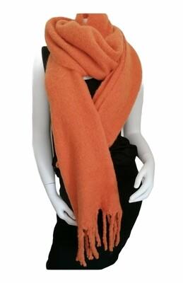 Wintersjaal - MARLEEN - oranje