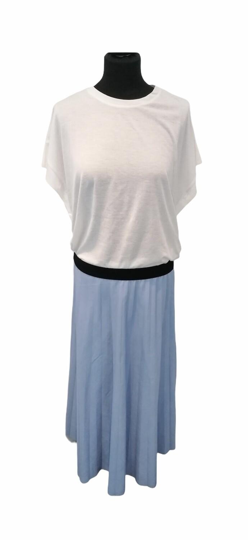 * T-shirt met korte mouwen - ANNELI - wit