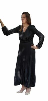 Maxi jurk - DONNA - zwart