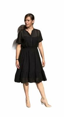 Korte jurk - MELINA - zwart