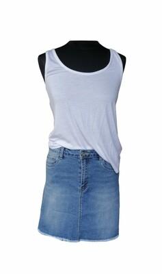 Korte rok - NOVA - mini jeansrok