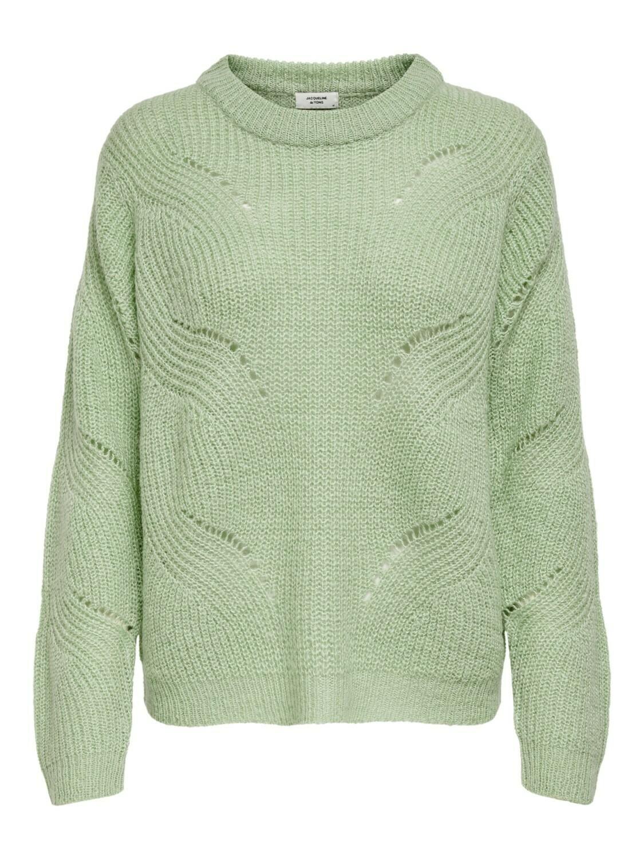 (*) Knitwear trui - NEW DAISY - muntgroen