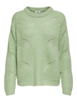 * Knitwear trui - NEW DAISY - muntgroen