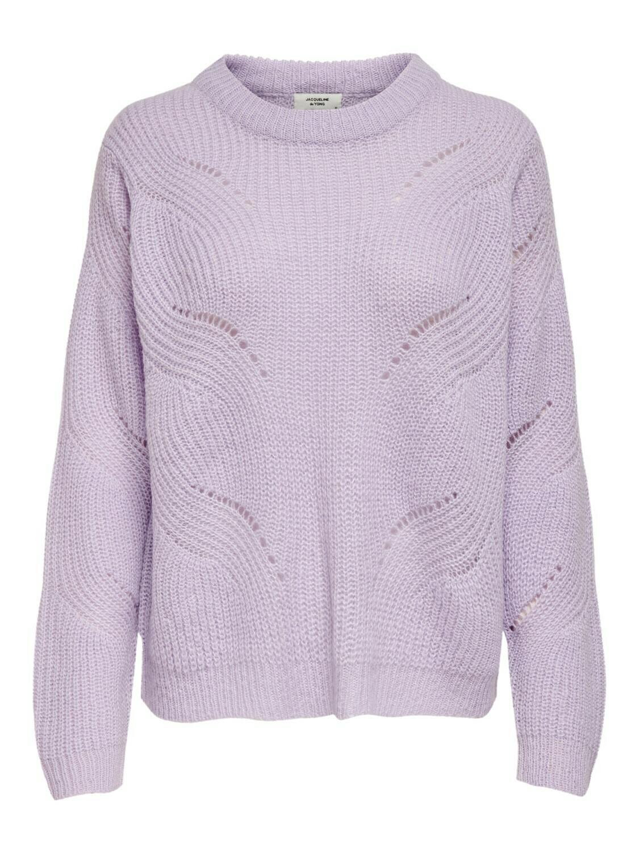 (*) Knitwear trui - NEW DAISY - lila
