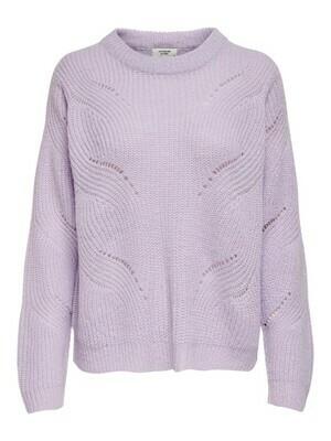 * Knitwear trui - NEW DAISY - lila