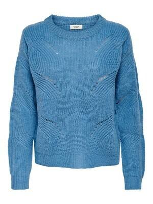 * Knitwear trui - NEW DAISY - lichtblauw