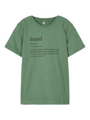 KIDS T-shirt - TAGE - groen