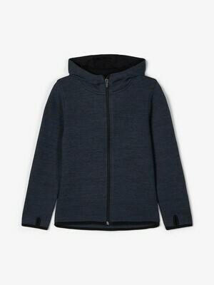 KIDS Vest met kap - SCOTT - donkerblauw
