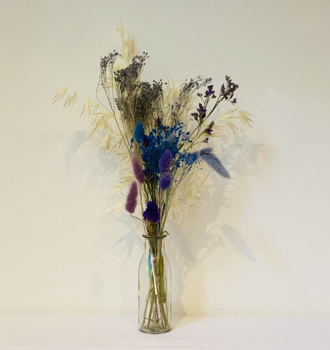 04 - Droogbloemen met vaas S - keuze 1