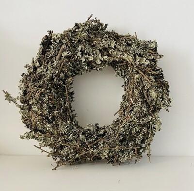 16 - Droogbloemen krans 30cm - keuze 2