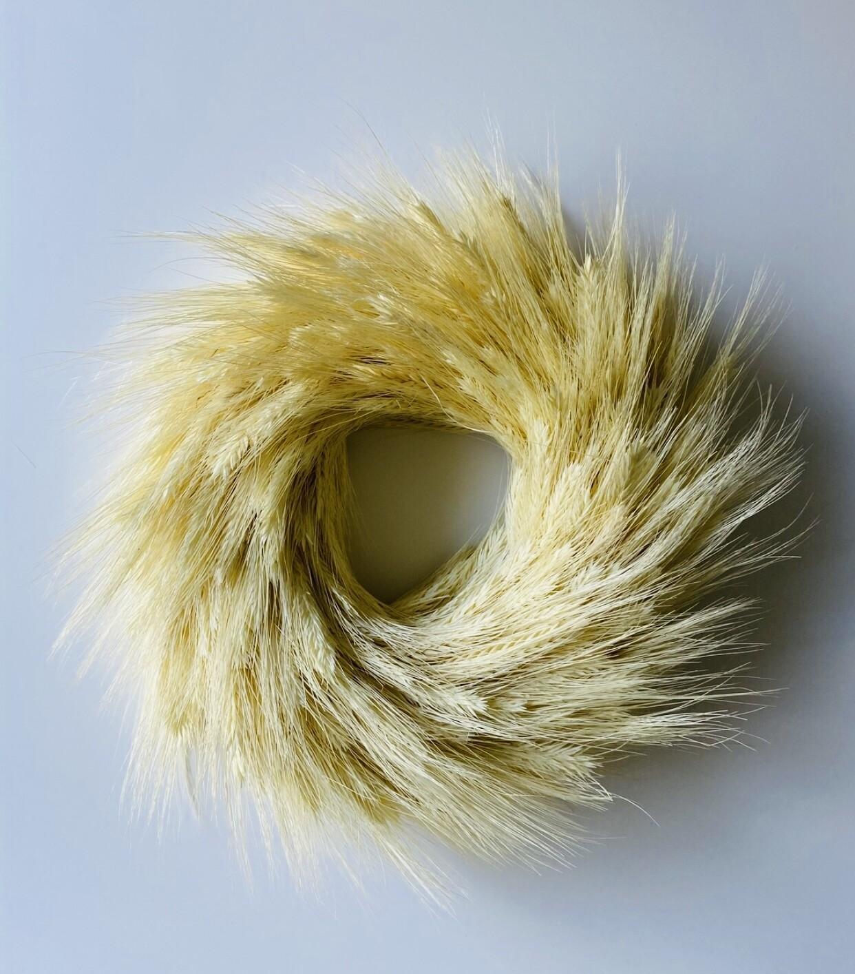 16 - Droogbloemen krans 35 cm - keuze 1