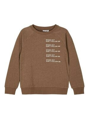 KIDS Trui sweater - VION - bruin